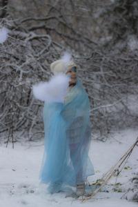 Lumeprintsessnäomaaling väike